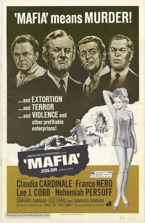 Il giorno della civetta - Movie Poster