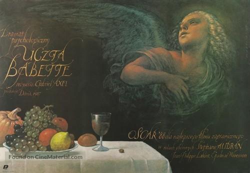 Babettes gæstebud - Polish Movie Poster