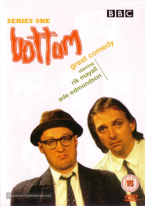 """Bottom"" - British DVD movie cover"