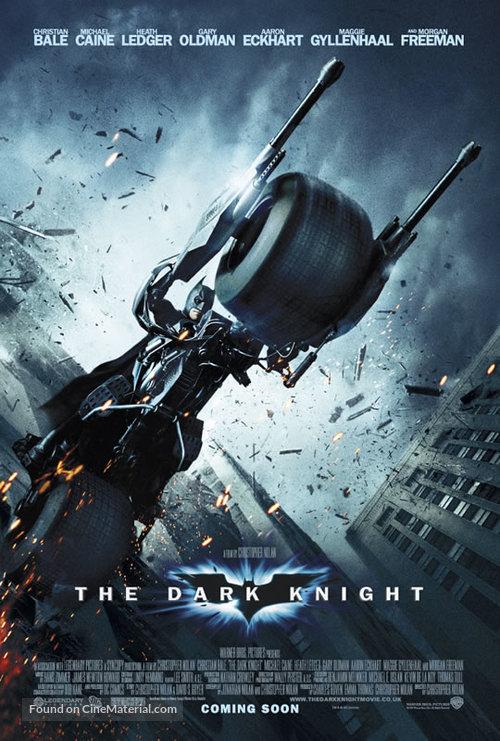 The Dark Knight - British Movie Poster