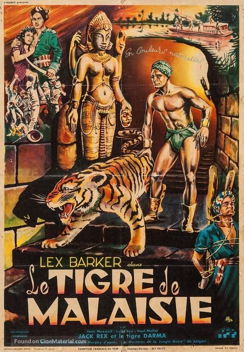 I misteri della giungla nera - French Movie Poster