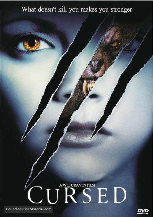 Cursed - DVD movie cover