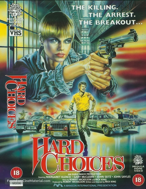 Hard Choices - British Movie Cover