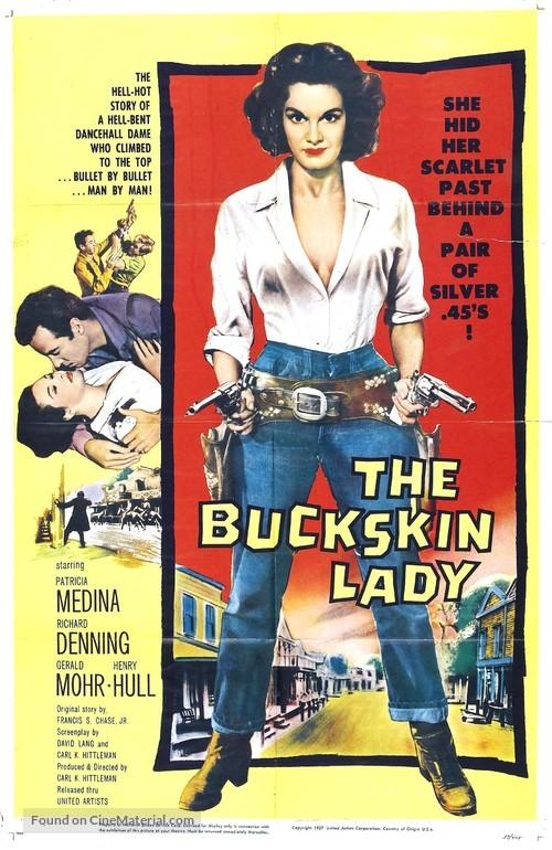 The Buckskin Lady - Movie Poster