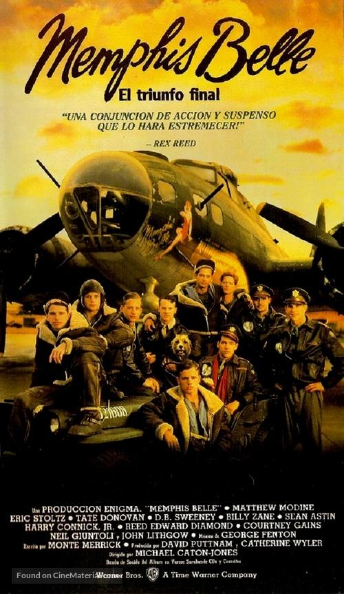 Memphis Belle - Argentinian Movie Poster