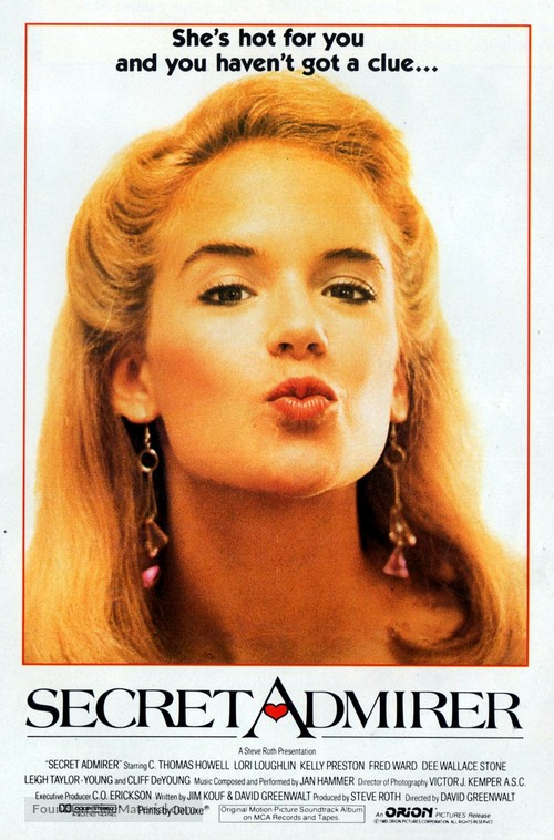 Secret Admirer - Movie Poster