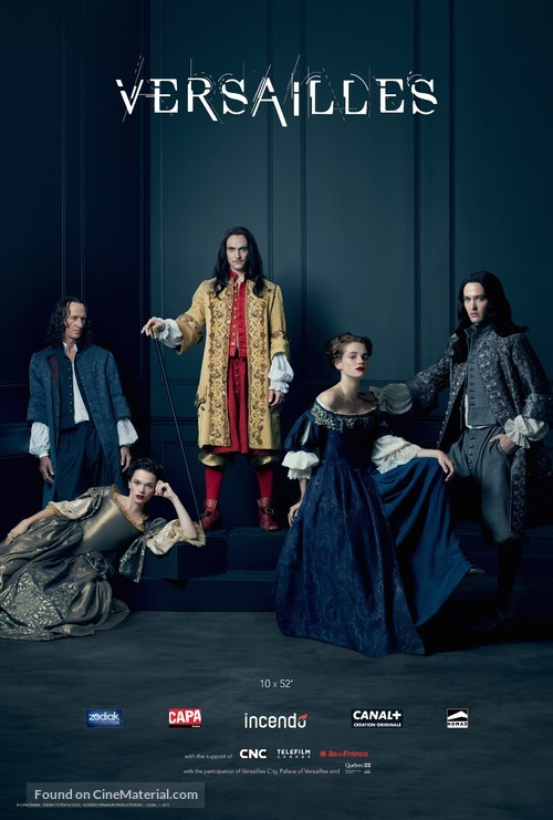 """""""Versailles"""" - Canadian Movie Poster"""