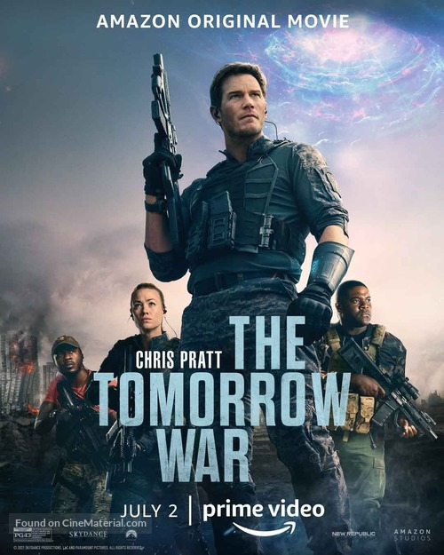 The Tomorrow War - Movie Poster