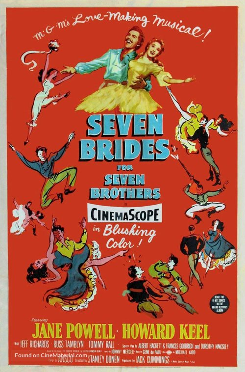 Seven Brides for Seven Brothers - Movie Poster