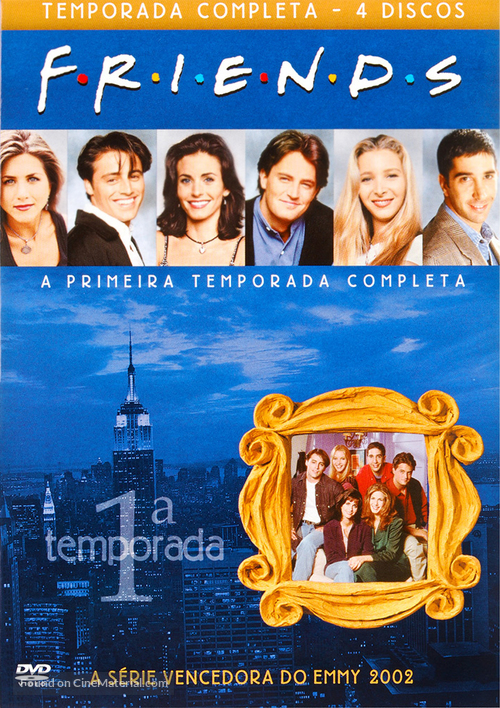 """Friends"" - Brazilian DVD movie cover"
