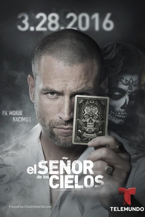"""""""El Señor de los Cielos"""" - Spanish Movie Poster"""