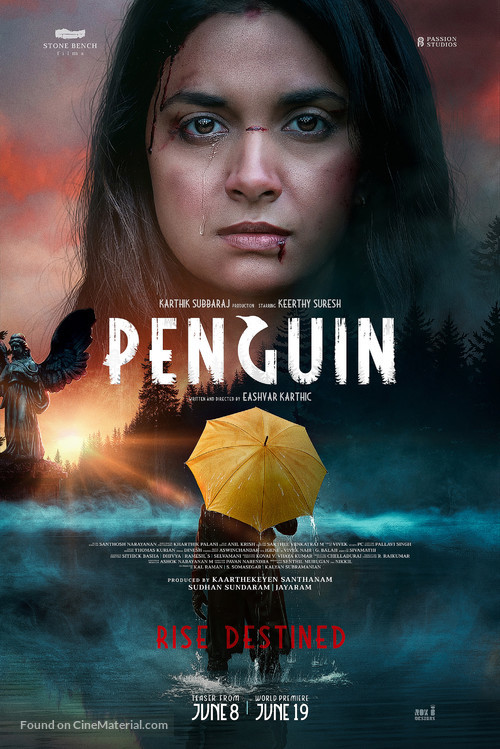 Penguin - Indian Movie Poster