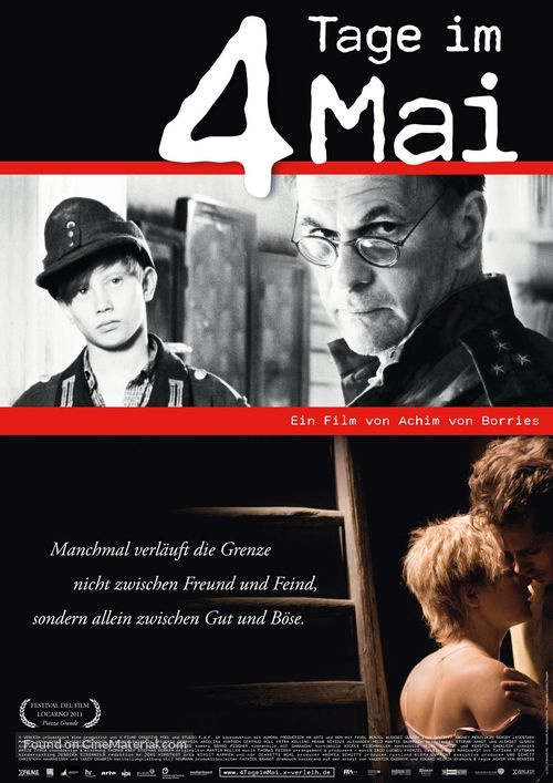 4 Tage im Mai - German Movie Poster
