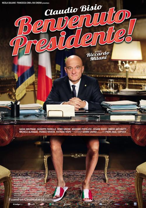 Benvenuto Presidente! - Italian Movie Poster