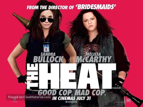 The Heat - British Movie Poster