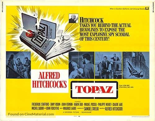 Topaz - Movie Poster