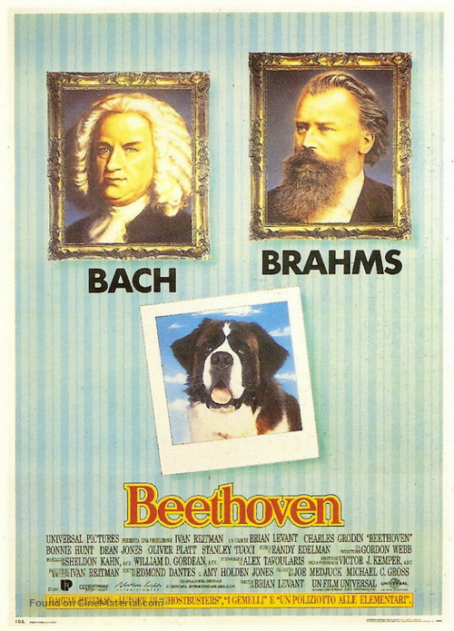Beethoven - Italian Movie Poster