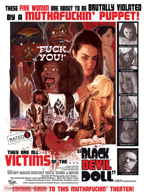 Black Devil Doll - Movie Poster