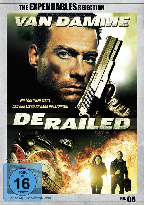Derailed - German DVD cover