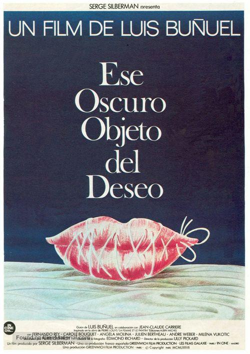 Cet obscur objet du désir - Spanish Movie Poster