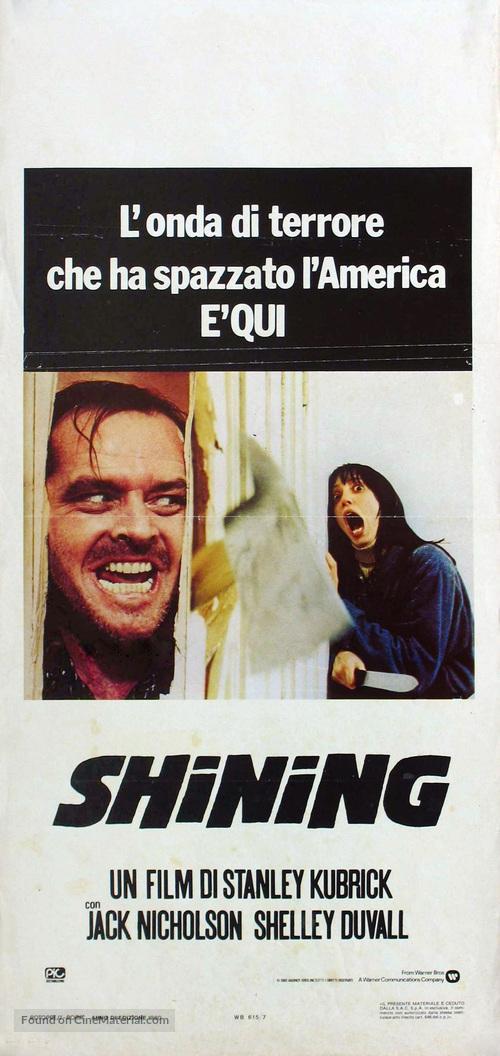 The Shining - Italian Movie Poster