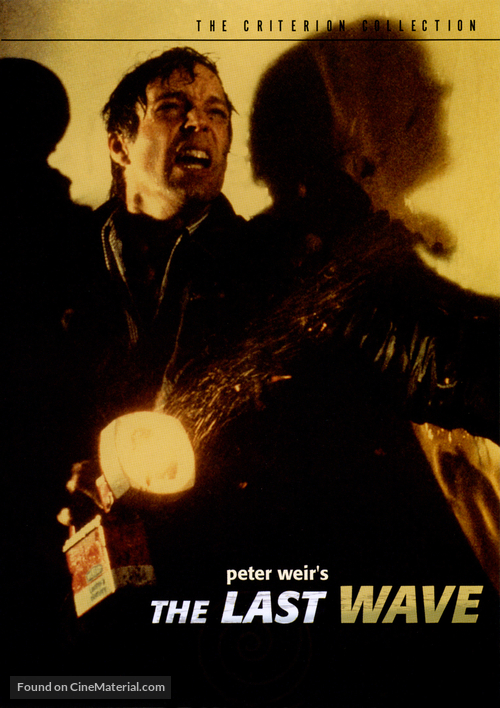 The Last Wave - DVD movie cover