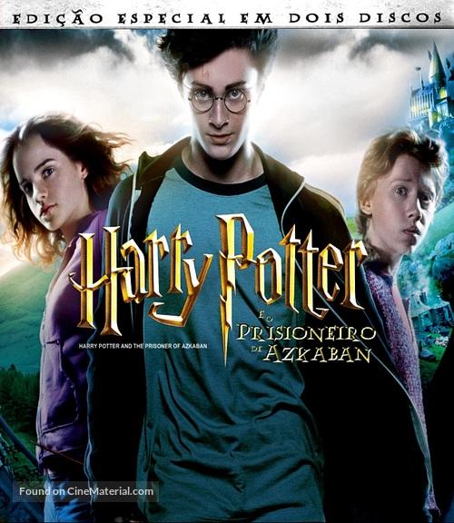 Harry Potter And The Prisoner Of Azkaban 2004 Brazilian Blu Ray Movie Cover