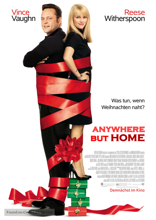 Four Christmases - Swiss Movie Poster