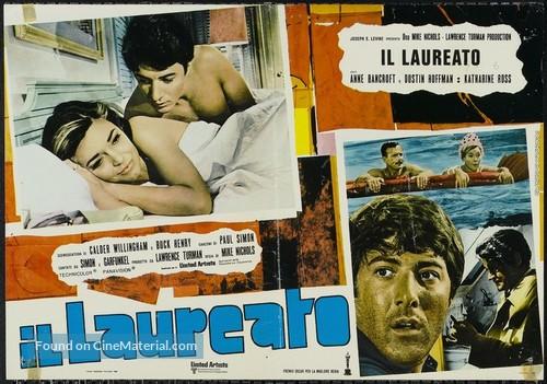 The Graduate - Italian Movie Poster