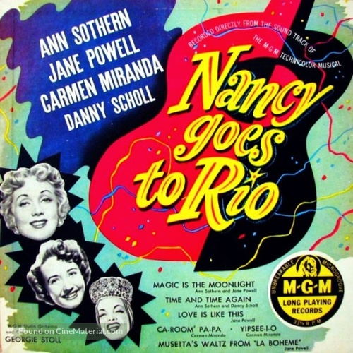 Nancy Goes to Rio - Movie Poster