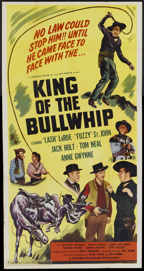 King of the Bullwhip - Movie Poster