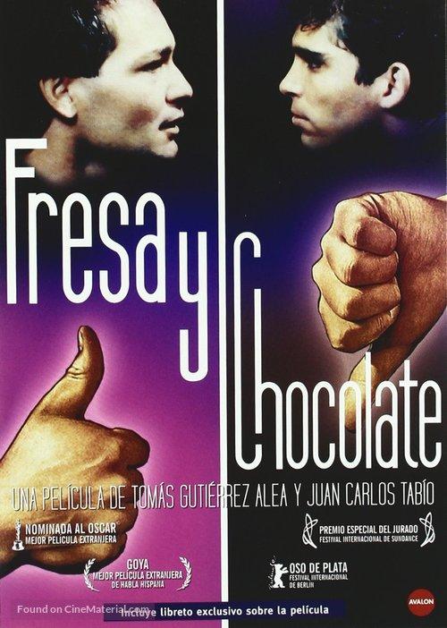 Fresa y chocolate - Spanish Movie Cover
