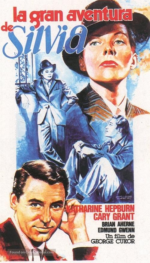 Sylvia Scarlett - Spanish Movie Poster