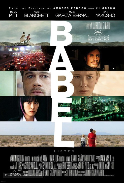 Babel - Movie Poster