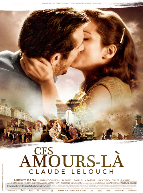 Ces amours-là - French Movie Poster