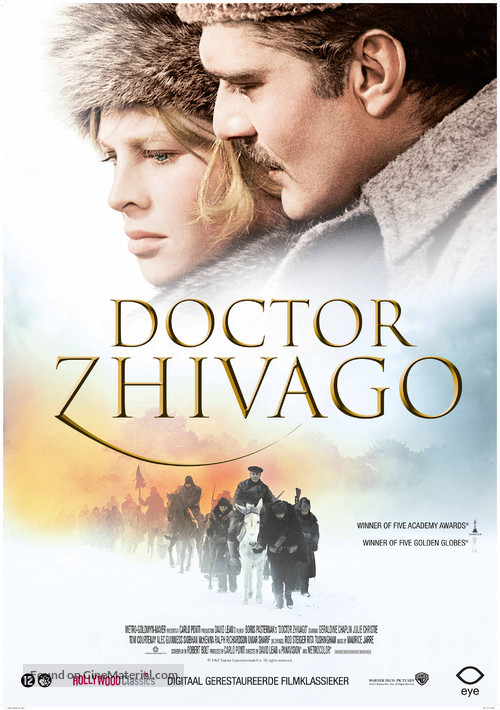 Doctor Zhivago - Dutch Movie Poster