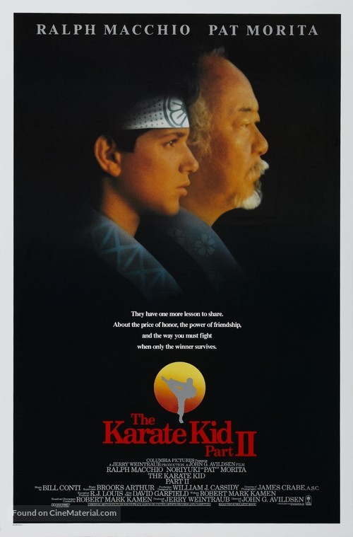 The Karate Kid, Part II - Movie Poster