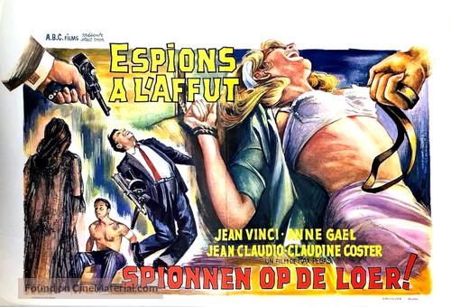 Espions à l'affût - Belgian Movie Poster