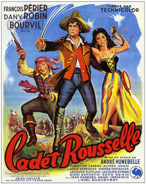 Cadet Rousselle - French Movie Poster