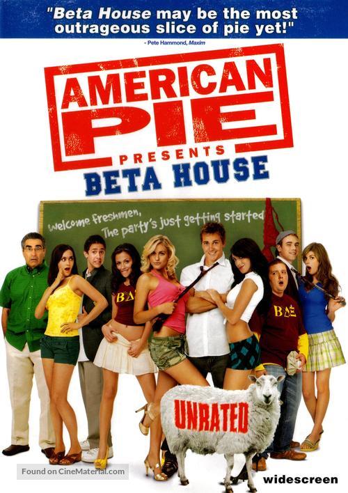 American Pie Presents: Beta House - DVD movie cover