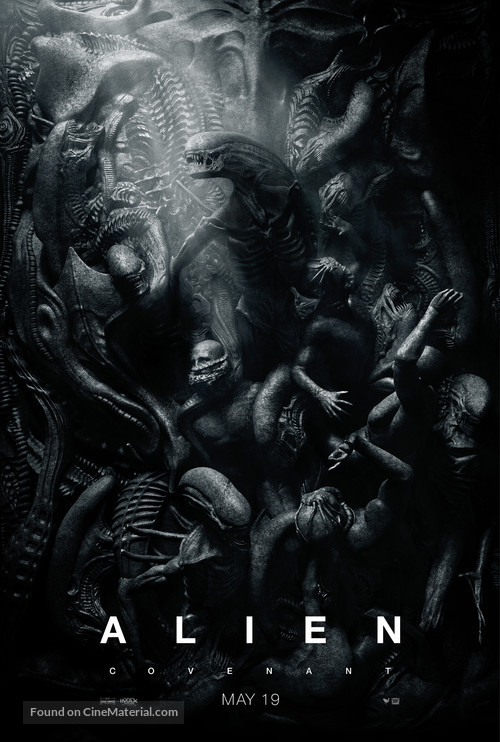 Alien: Covenant - Theatrical movie poster