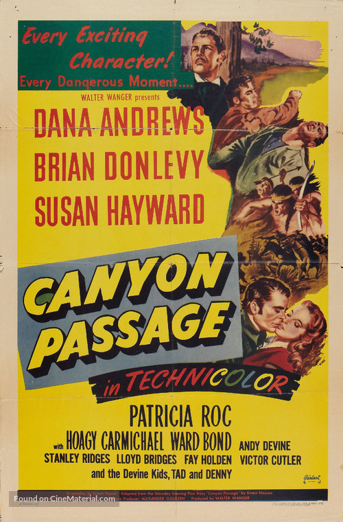 Canyon Passage - Movie Poster