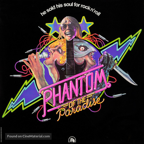 Phantom of the Paradise - Movie Poster