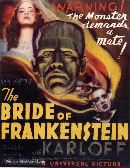 Bride of Frankenstein - Movie Poster