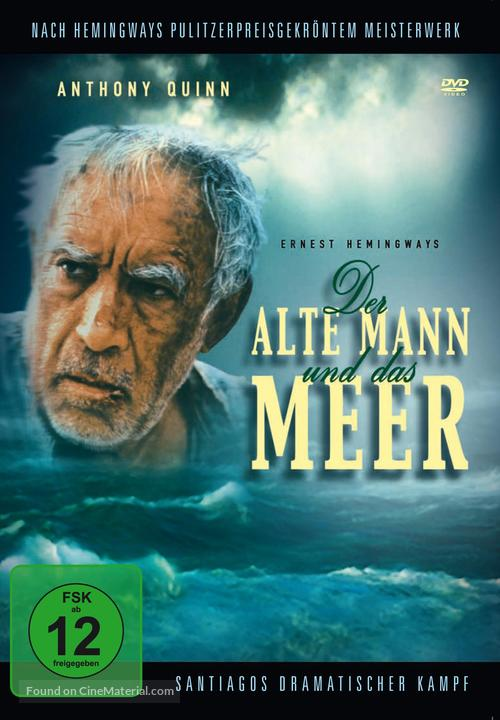 The Old Man and the Sea - German DVD cover
