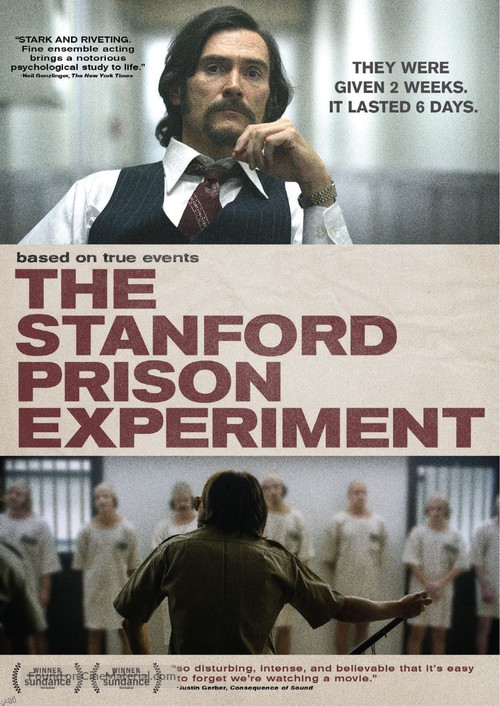 The Stanford Prison Experiment - Movie Cover