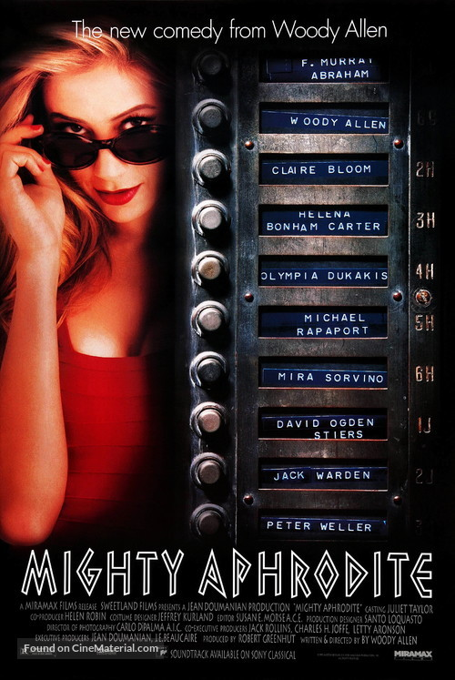 Mighty Aphrodite - Movie Poster
