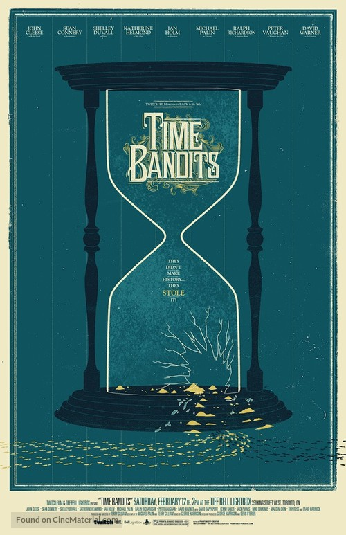 Time Bandits - Canadian Homage movie poster