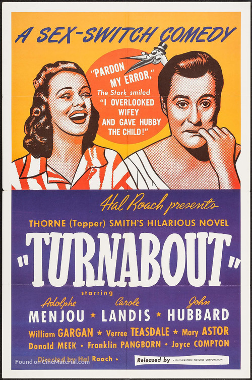 Turnabout - Movie Poster