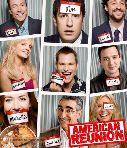 American Reunion 2012 Blu Ray Movie Cover